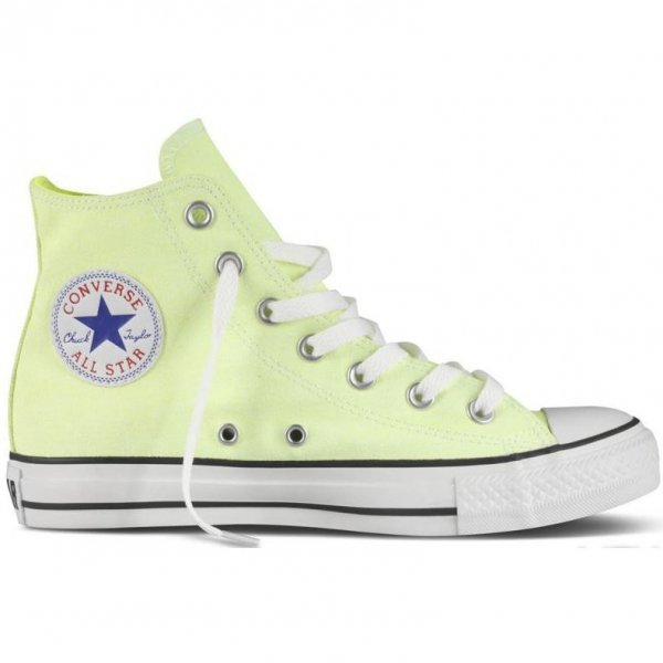 Trampki Converse CHUCK TAYLOR ALL STAR HI Neon Yellow 136582C