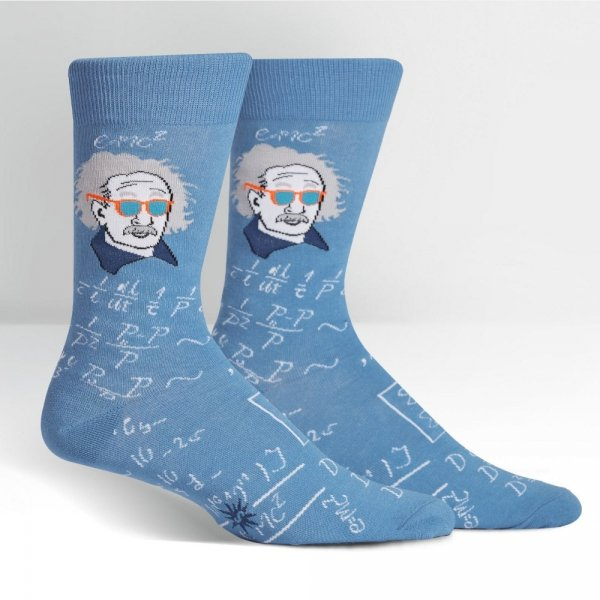 Skarpety męskie Sock It To Me Relatively Cool (Blue) MEF0129-2