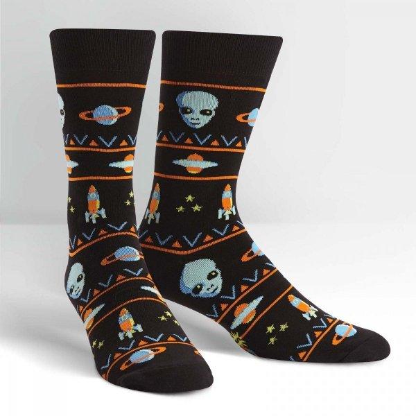 Skarpety męskie Sock It To Me ALIEN SWEATER SIGHTING