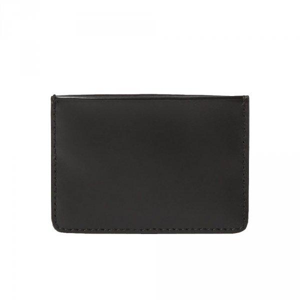 Etui na karty Dr. Martens CARD HOLDER Kiev Black Leather AC822001