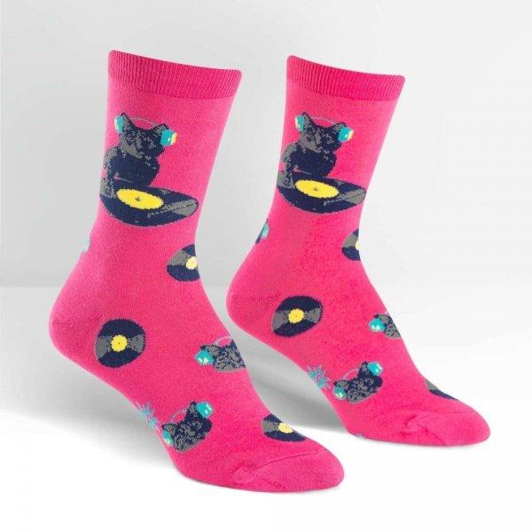 Skarpety damskie Sock It To Me Cat Scratch W0086