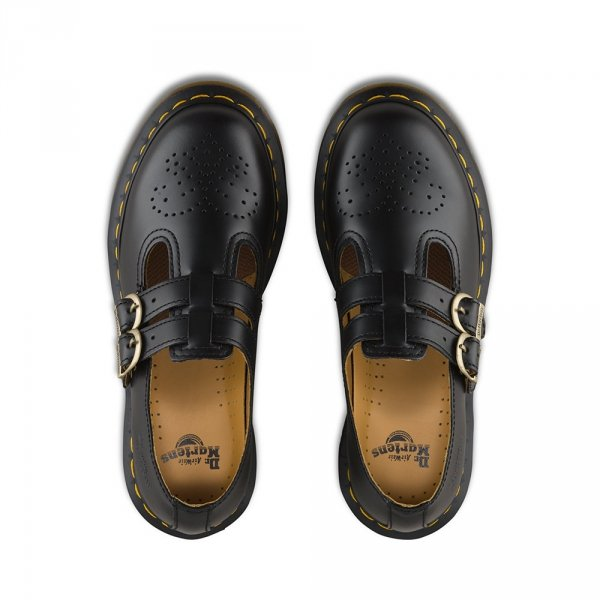 Półbuty Dr. Martens 8053 MARY JANE Black Smooth 12916001