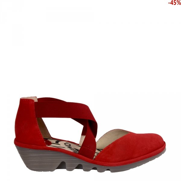 Sandały Fly London PACO 014 Lipstick Red Cupido P501147005