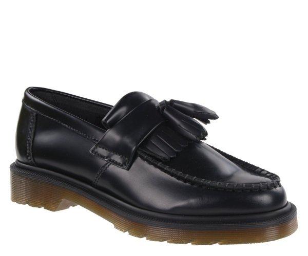 Półbuty Dr. Martens ADRIAN Black Polished Smooth