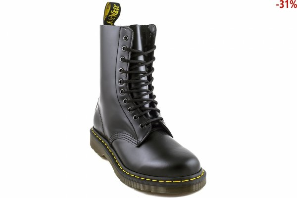 Buty Dr. Martens 1490 Black Smooth
