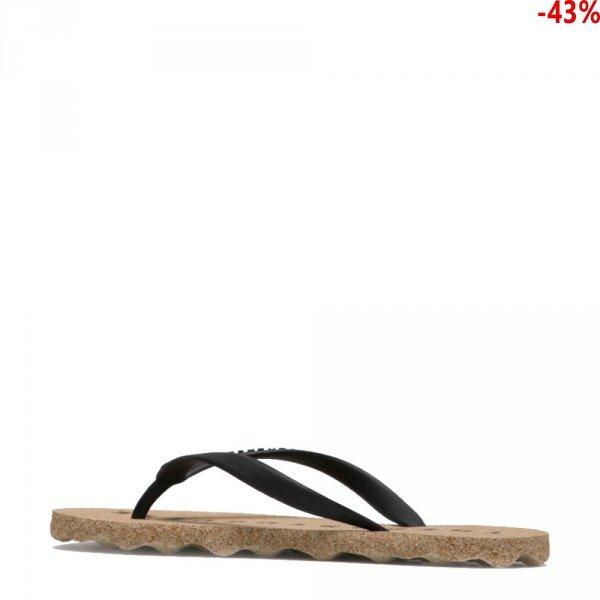 Klapki Asportuguesas BASE Natural Black P018049001