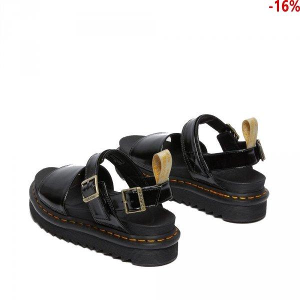 Sandały Dr. Martens VEGAN VOSS STRAP SANDALS Black Oxford 26803001