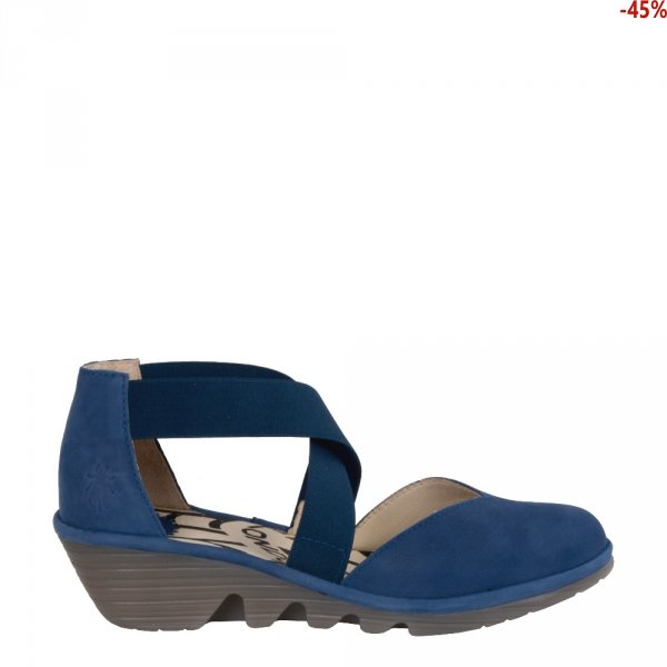 Sandały Fly London PACO 014 Blue Cupido P501147004