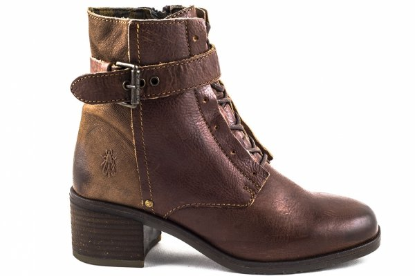 Botki Fly London ALIS Tan Brown