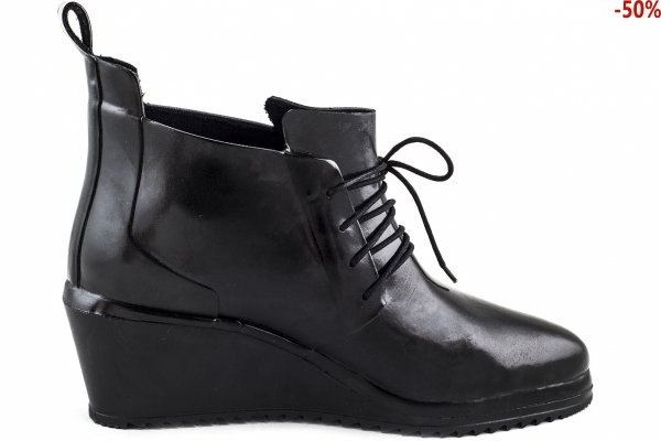 Kalosze Nokian LACE UP SHOE Black Ocieplane