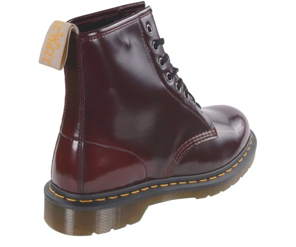 Buty Dr. Martens 1460 VEGAN Cherry Red Cambridge Brush 23756600