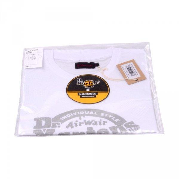 T-Shirt Dr. Martens SILVER LOGO White AC686100