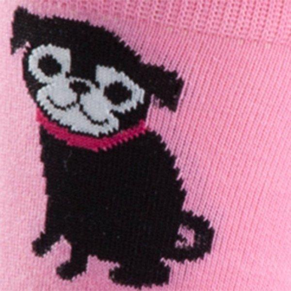 Skarpety damskie Sock It To Me PINK PUG