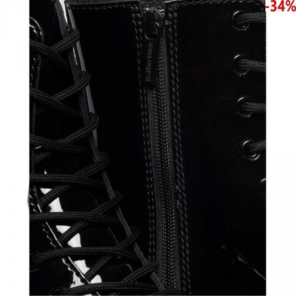 Buty Dr. Martens JADON Black Patent Lamper 26646001