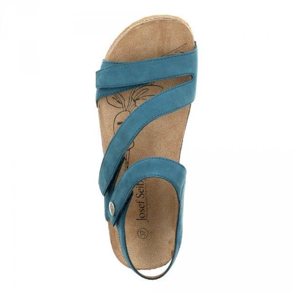 Sandały Josef Seibel TONGA 25 Azur Campa Nubuk 78519724515