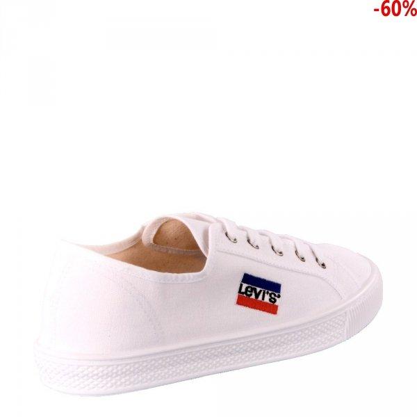 Tenisówki Levi's MALIBU SPORTWEAR Brilliant White 22871873350