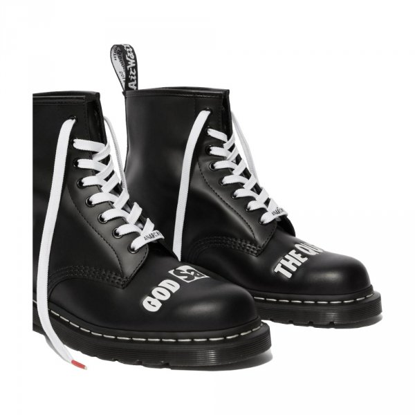 Dr. Martens 1460 SEX PISTOLS Black Rolled Smooth 25927001
