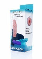 Proteza-Hollow Strap-on Adrian vibrating