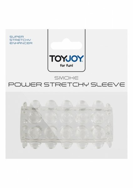 Stymulator-POWER STRETCHY SLEEVE CLEAR