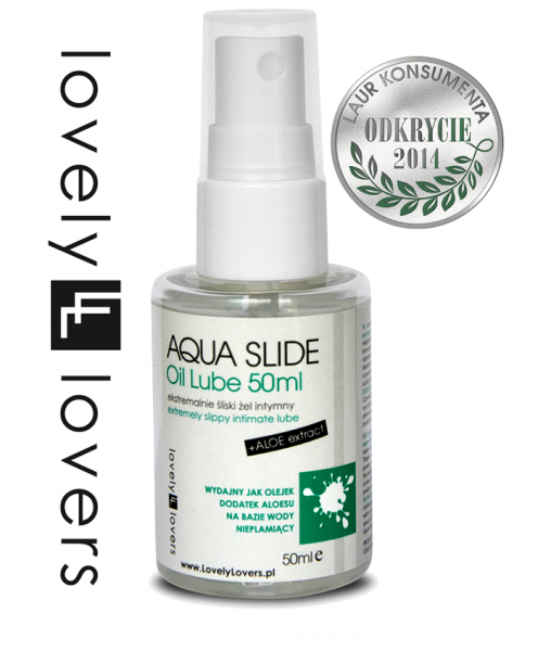 LOVELY LOVERS AQUA SLIDE Oil Lube 50ml