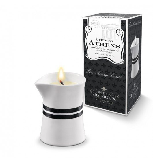 Petits Joujoux Fine Massage Candles - A trip to Athens (120 g)