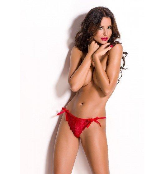 Nessa stringi czerwone XL