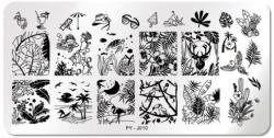 Stamping Schablone PY - J010