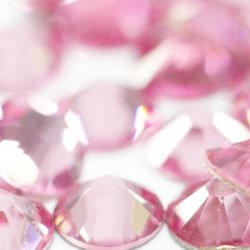 Opal Crystals Mix SS4 - SS20 PINK 400st.
