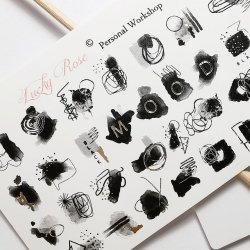 Nail Stickers No. 8