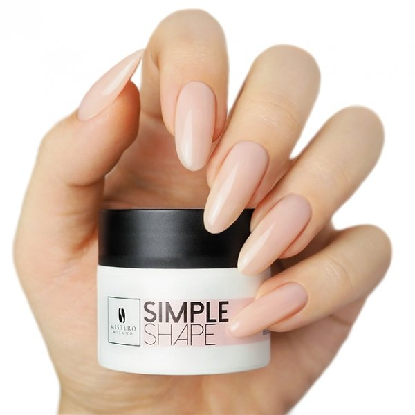 SIMPLE SHAPE Cover Natural 50ml - Mistero Milano
