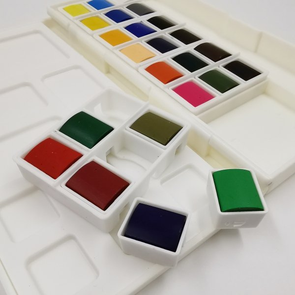 Aquarellfarben 24 Stück SET