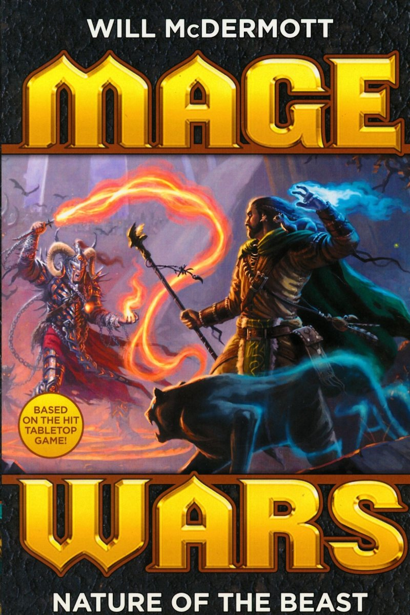 MAGE WARS NATURE OF THE BEAST NOVEL
