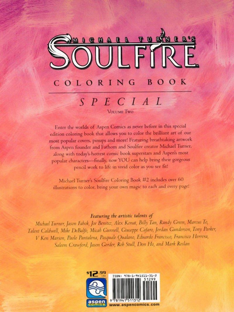 SOULFIRE COLORING BOOK VOL 02 SC (Oferta ekspozycyjna)