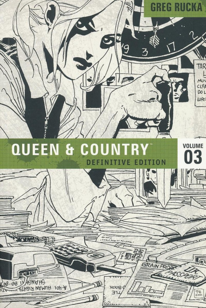 QUEEN AND COUNTRY DEFINITIVE EDITION VOL 03 SC (NEW EDITION) (Oferta ekspozycyjna)