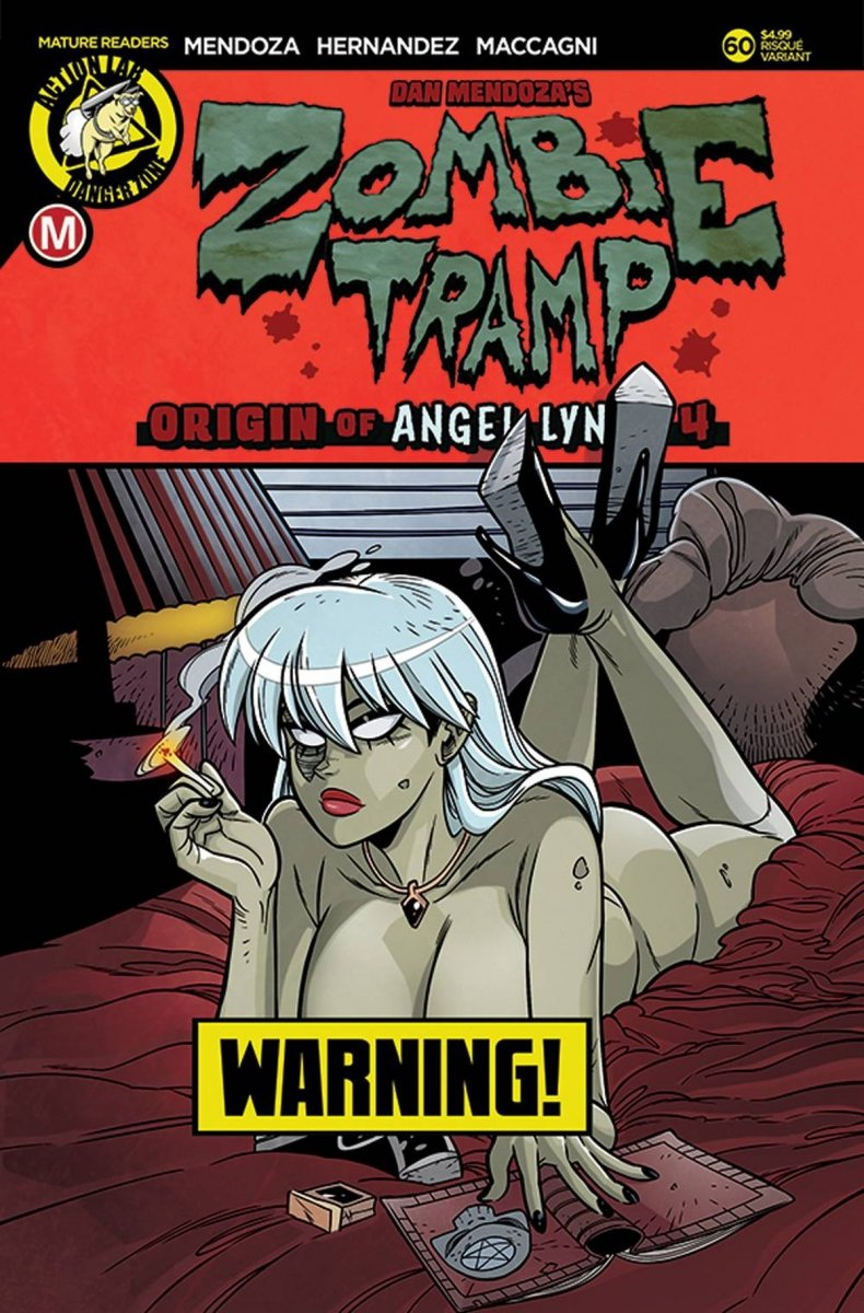 ZOMBIE TRAMP ONGOING #60 CVR B MACCAGNI RISQUE