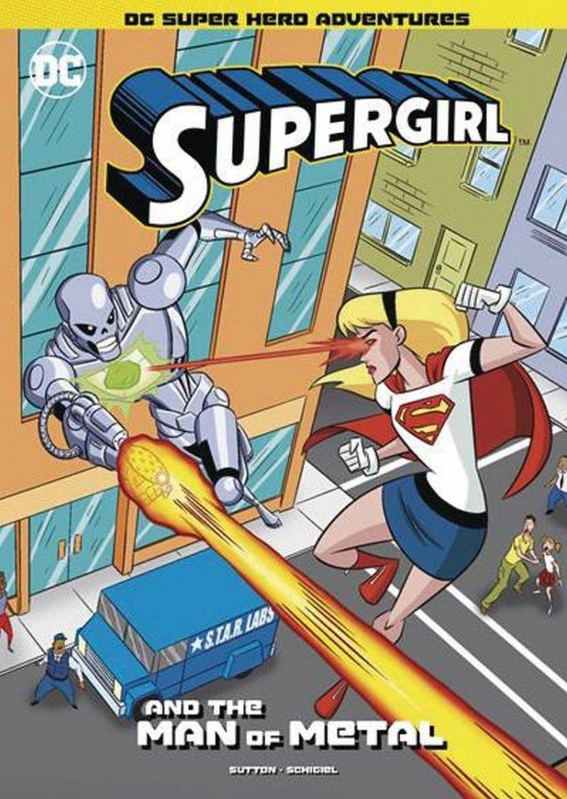 DC SUPER HEROES SUPERGIRL YR TP SUPERGIRL & MAN OF METAL