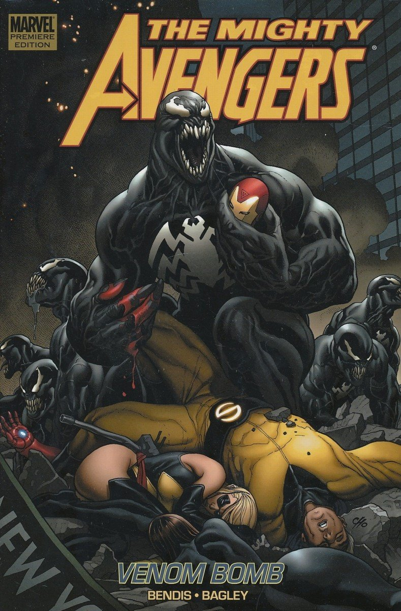 MIGHTY AVENGERS PREM HC VOL 02 VENOM BOMB