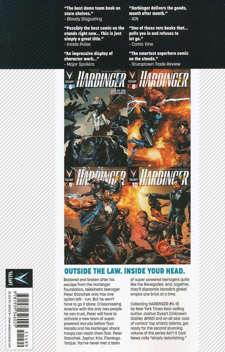HARBINGER TP VOL 02 RENEGADES (Oferta ekspozycyjna)