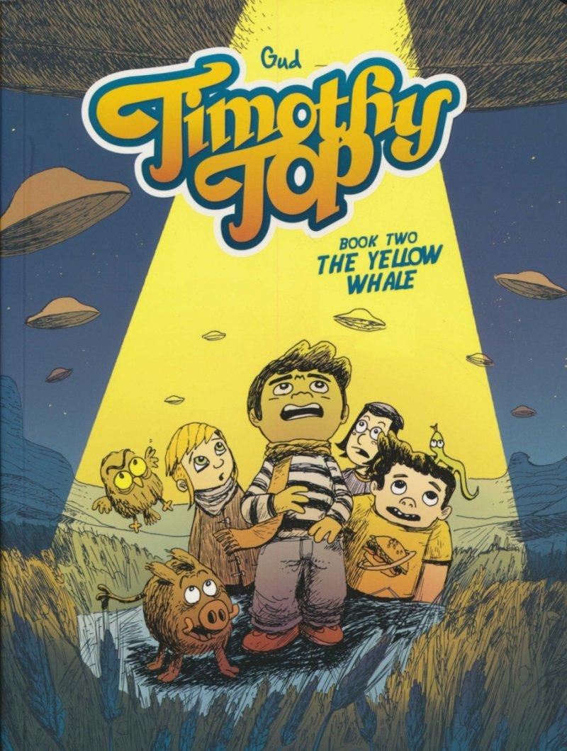 TIMOTHY TOP GN BOOK 02 YELLOW WHALE (Oferta ekspozycyjna)