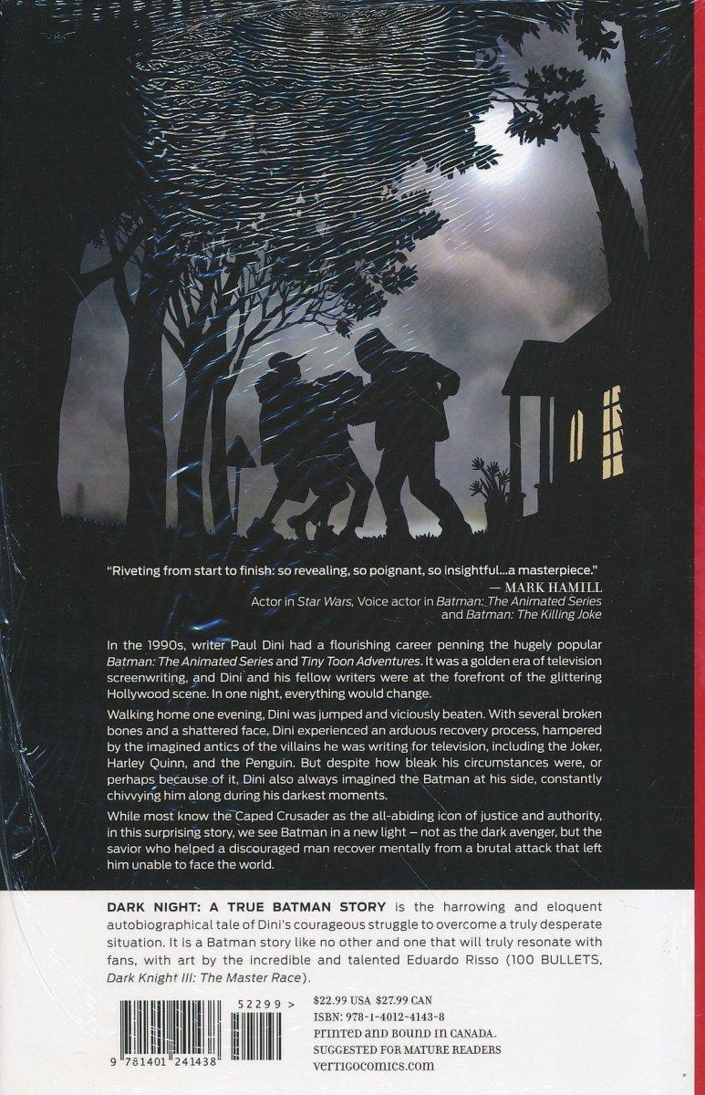 DARK NIGHT A TRUE BATMAN STORY HC (Oferta ekspozycyjna)