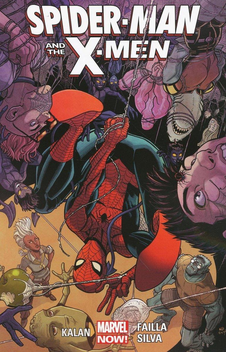 SPIDER-MAN AND X-MEN TP (Oferta ekspozycyjna)