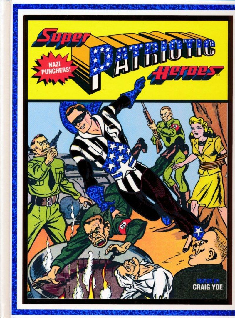 SUPER PATRIOTIC HEROES HC (Oferta ekspozycyjna)