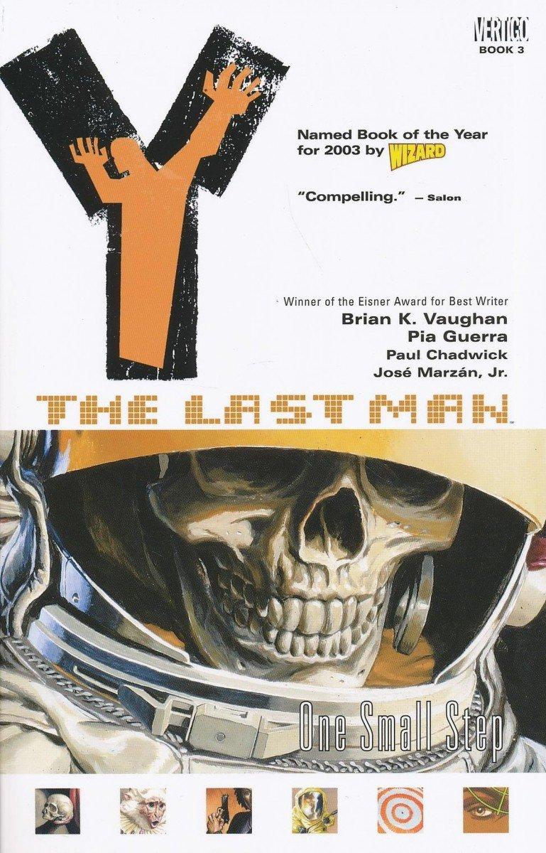 Y THE LAST MAN VOL 03 ONE SMALL STEP SC (NEW EDITION) (Oferta ekspozycyjna)