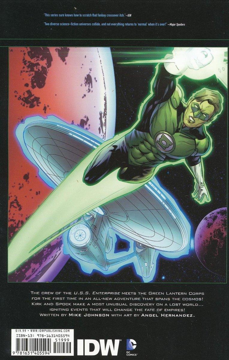 STAR TREK GREEN LANTERN TP VOL 01 SPECTRUM WAR (Oferta ekspozycyjna)