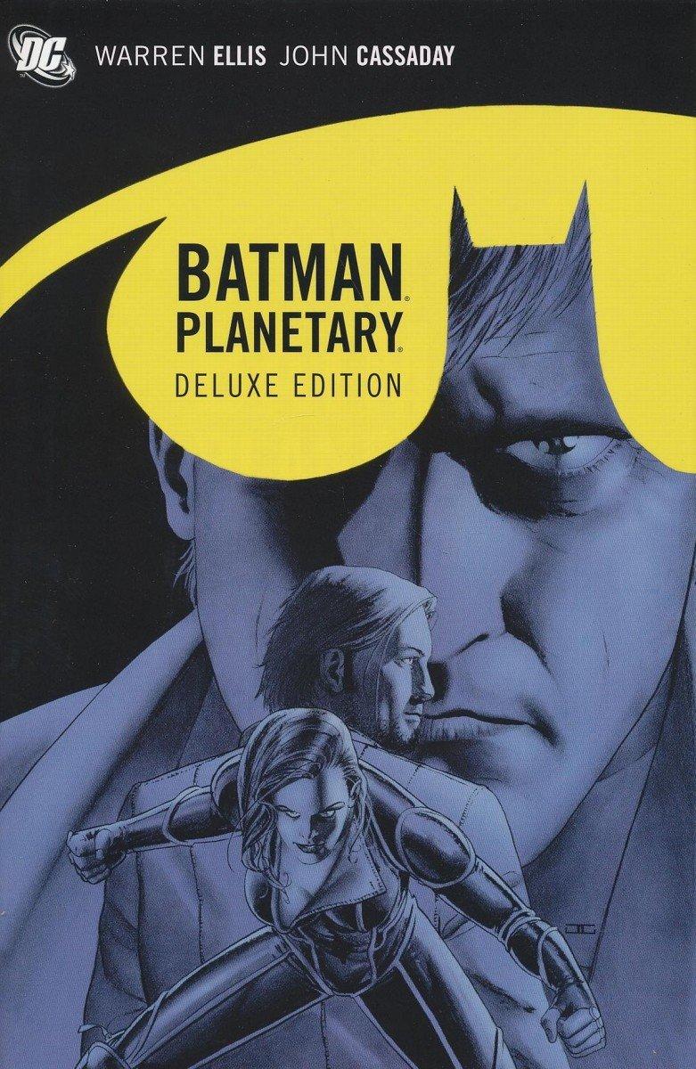 BATMAN PLANETARY DELUXE HC (Oferta ekspozycyjna)