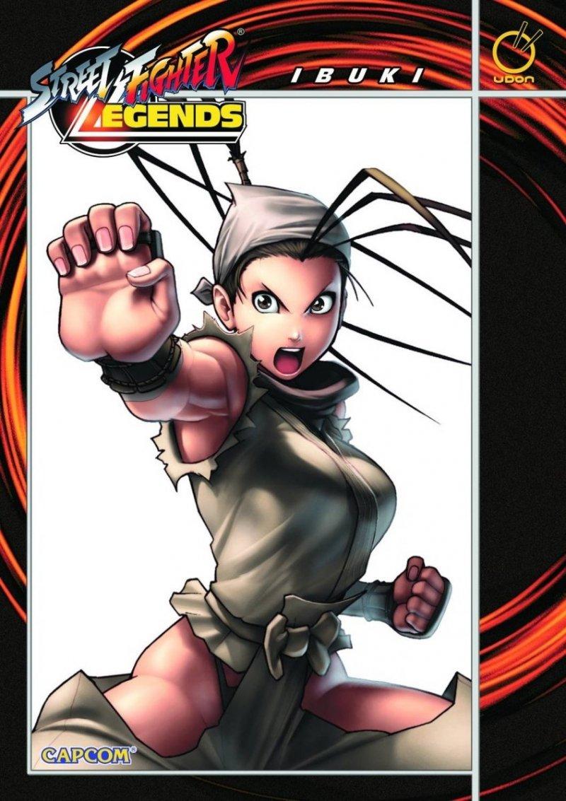 STREET FIGHTER LEGENDS TP VOL 03 IBUKI