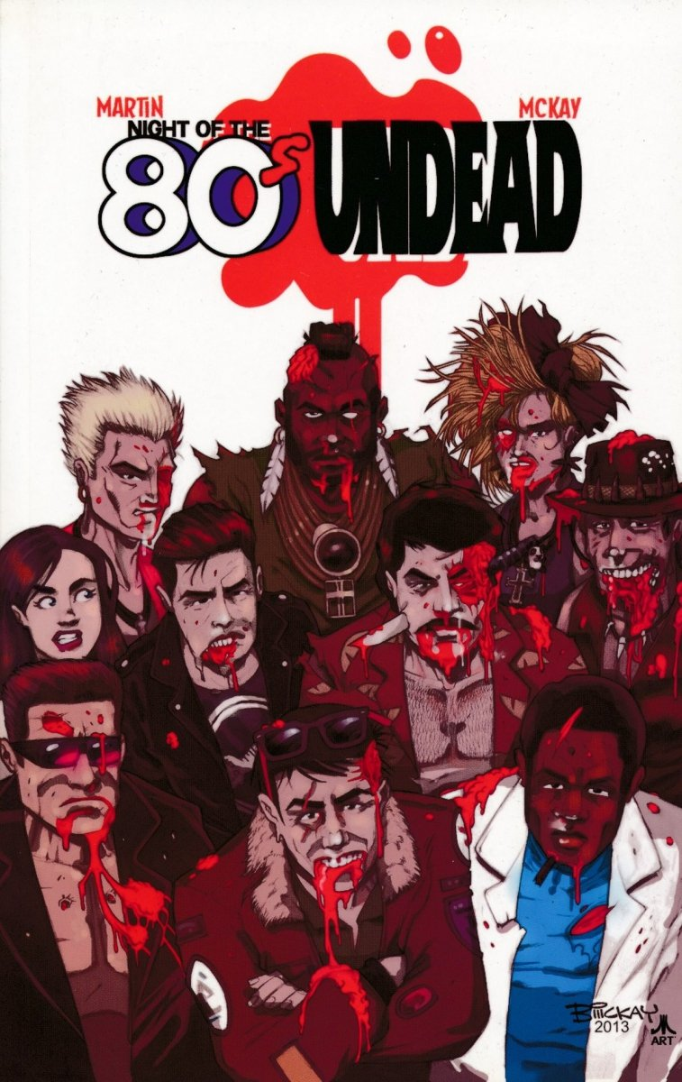 NIGHT OF THE 80S UNDEAD SC