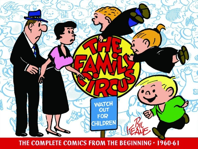 FAMILY CIRCUS LIBRARY HC VOL 01
