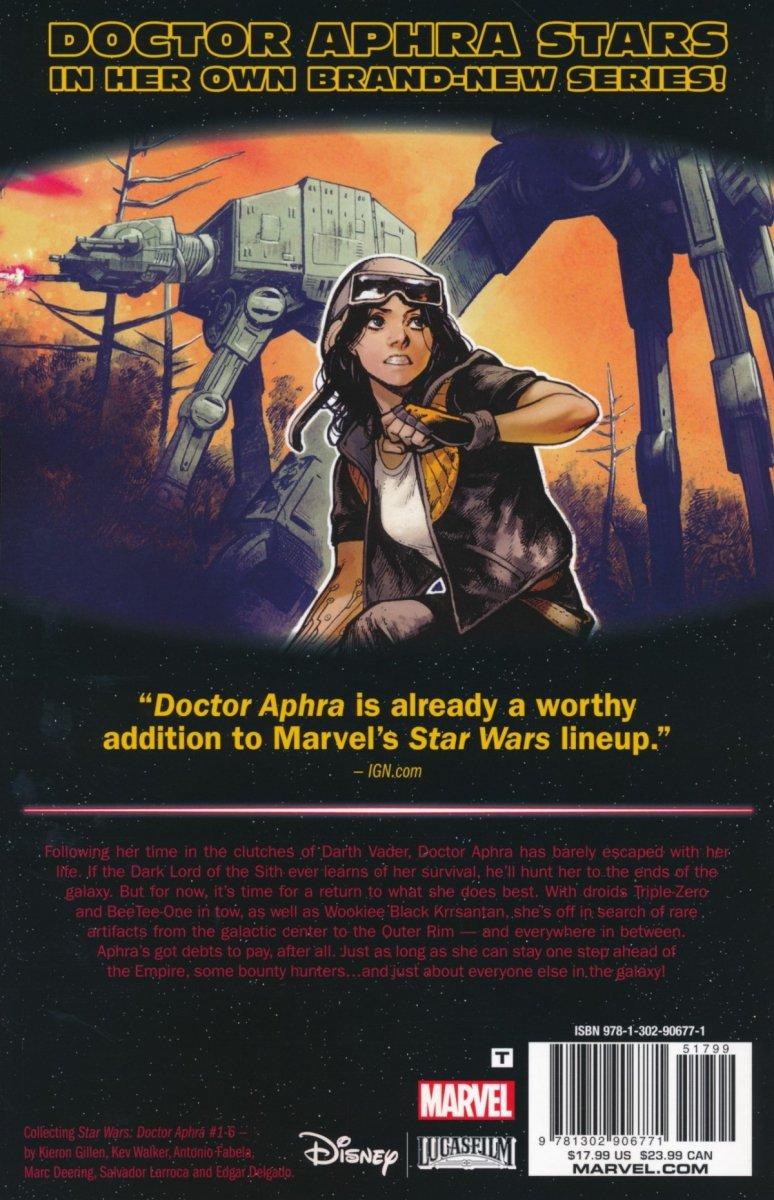 STAR WARS DOCTOR APHRA TP VOL 01 APHRA (Oferta ekspozycyjna)