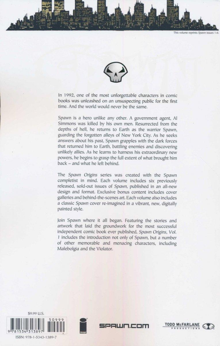 SPAWN ORIGINS COLLECTION VOL 01 SC (NEW EDITION) (Oferta ekspozycyjna)